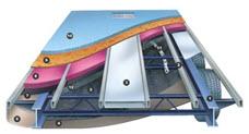 steel frame of rv trailer