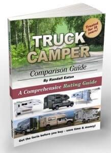 Truck camper guide
